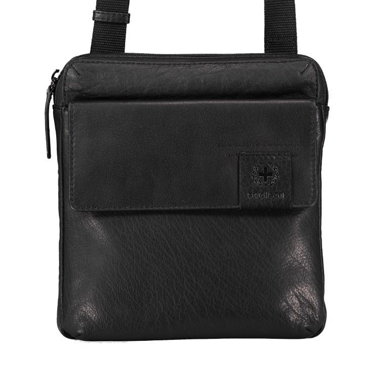 Umhängetasche Hyde Park Shoulderbag XSVZ2 Black, Farbe: schwarz, Marke: Strellson, EAN: 4053533861019, Abmessungen in cm: 22.0x22.0x4.0, Bild 1 von 7