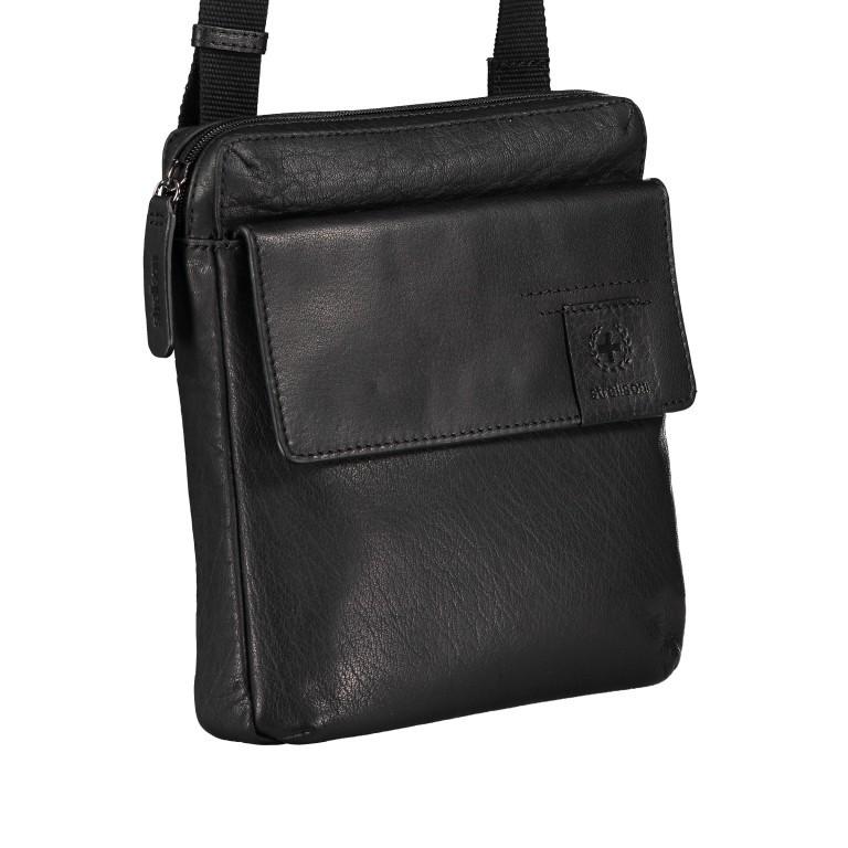 Umhängetasche Hyde Park Shoulderbag XSVZ2 Black, Farbe: schwarz, Marke: Strellson, EAN: 4053533861019, Abmessungen in cm: 22.0x22.0x4.0, Bild 2 von 7