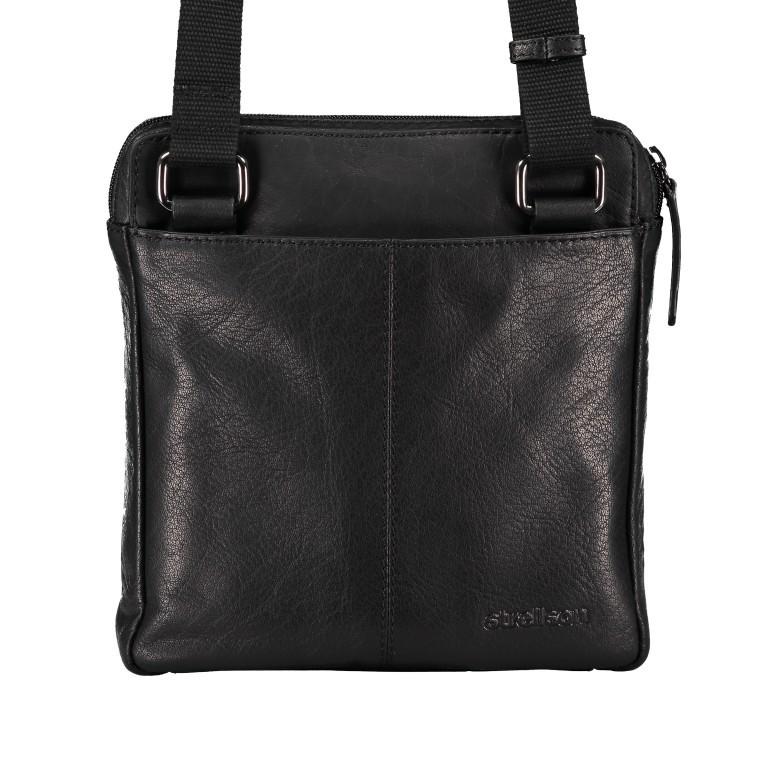 Umhängetasche Hyde Park Shoulderbag XSVZ2 Black, Farbe: schwarz, Marke: Strellson, EAN: 4053533861019, Abmessungen in cm: 22.0x22.0x4.0, Bild 3 von 7