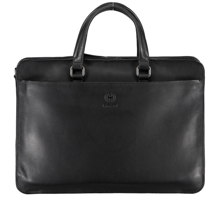 Aktentasche Bakerloo Briefbag SHZ Black, Farbe: schwarz, Marke: Strellson, EAN: 4053533851515, Abmessungen in cm: 39.0x28.0x8.0, Bild 1 von 10