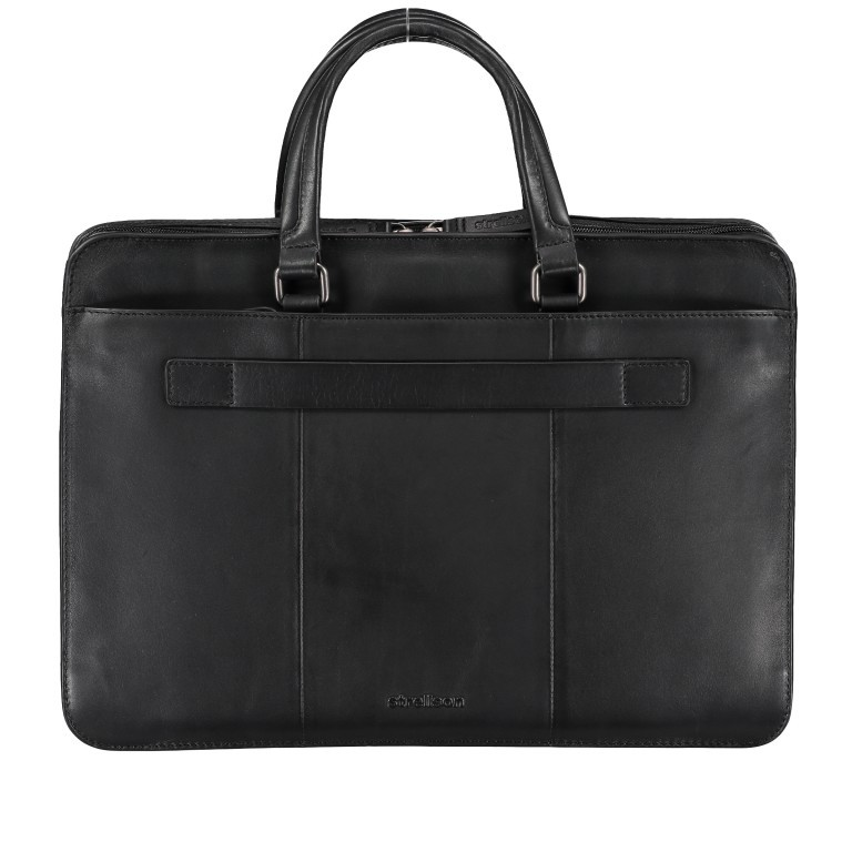 Aktentasche Bakerloo Briefbag SHZ Black, Farbe: schwarz, Marke: Strellson, EAN: 4053533851515, Abmessungen in cm: 39.0x28.0x8.0, Bild 3 von 10