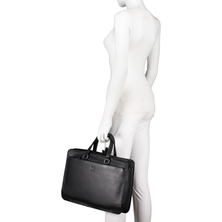 Aktentasche Bakerloo Briefbag SHZ Black, Farbe: schwarz, Marke: Strellson, EAN: 4053533851515, Abmessungen in cm: 39.0x28.0x8.0, Bild 4 von 10