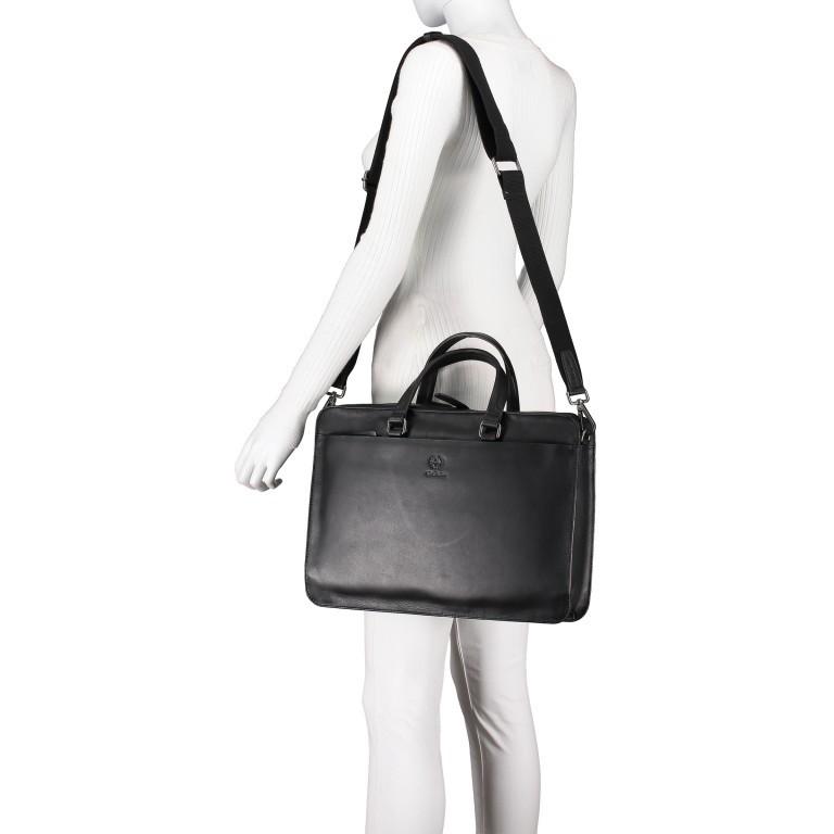 Aktentasche Bakerloo Briefbag SHZ Black, Farbe: schwarz, Marke: Strellson, EAN: 4053533851515, Abmessungen in cm: 39.0x28.0x8.0, Bild 5 von 10