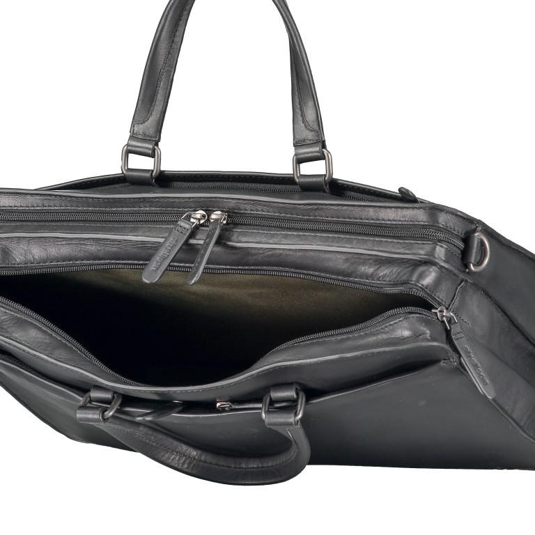 Aktentasche Bakerloo Briefbag MHZ Black, Farbe: schwarz, Marke: Strellson, EAN: 4053533851522, Abmessungen in cm: 39.0x28.0x13.0, Bild 8 von 11