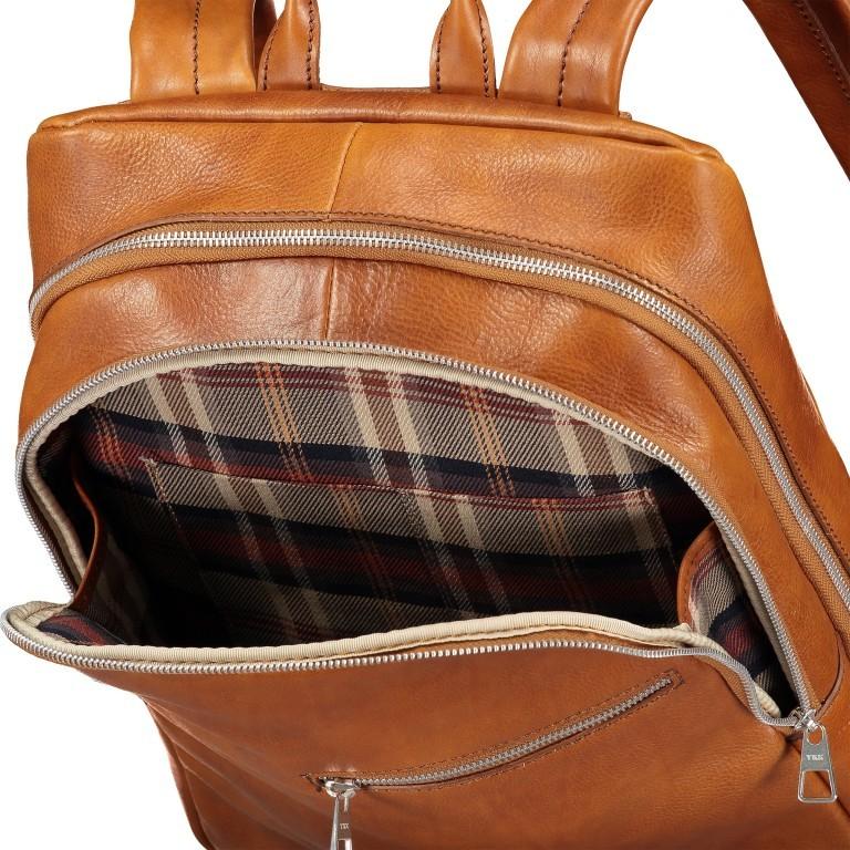Rucksack Cognac, Farbe: cognac, Marke: Hausfelder, EAN: 4065646004832, Abmessungen in cm: 29.0x37.0x12.0, Bild 7 von 7