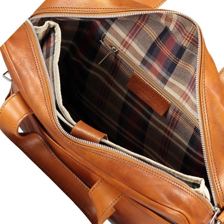 Aktentasche Braun, Farbe: braun, Marke: Hausfelder, EAN: 4065646004825, Abmessungen in cm: 39.0x32.0x10.0, Bild 7 von 8