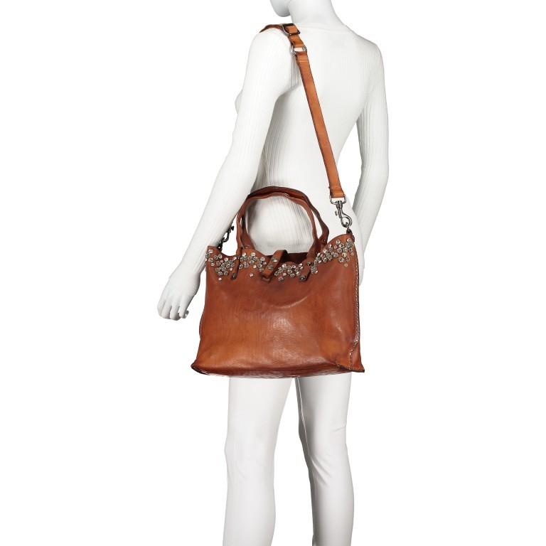 Handtasche 0290-X038 Leder Cognac, Farbe: cognac, Marke: Campomaggi, EAN: 8054302014809, Bild 5 von 8