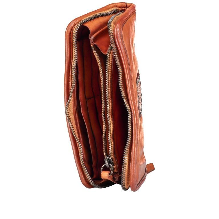 Geldbörse Bella Di Notte Cognac, Farbe: cognac, Marke: Campomaggi, EAN: 8054302732420, Abmessungen in cm: 21.0x11.0x3.0, Bild 4 von 4