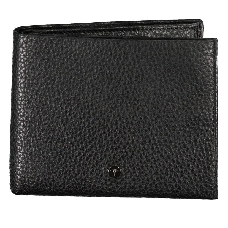 Geldbörse Cardona Minos H14 Black, Farbe: schwarz, Marke: Joop!, EAN: 4053533568956, Abmessungen in cm: 12.0x9.5x2.0, Bild 1 von 4