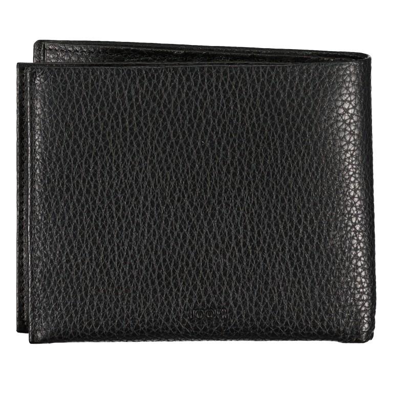 Geldbörse Cardona Minos H14 Black, Farbe: schwarz, Marke: Joop!, EAN: 4053533568956, Abmessungen in cm: 12.0x9.5x2.0, Bild 2 von 4