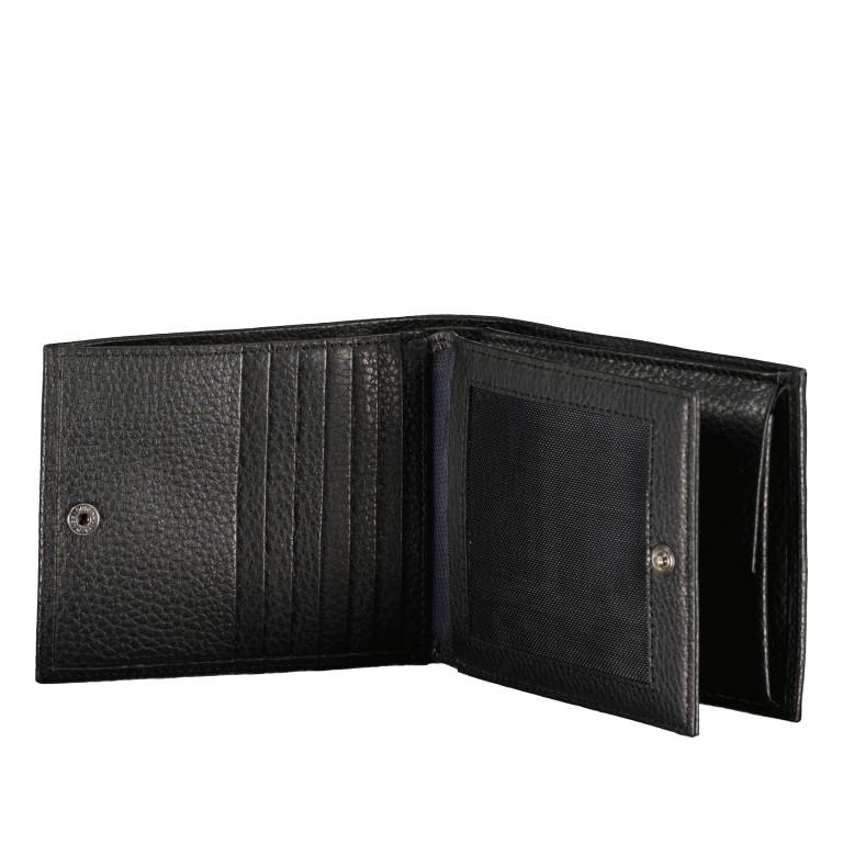 Geldbörse Cardona Minos H14 Black, Farbe: schwarz, Marke: Joop!, EAN: 4053533568956, Abmessungen in cm: 12.0x9.5x2.0, Bild 4 von 4