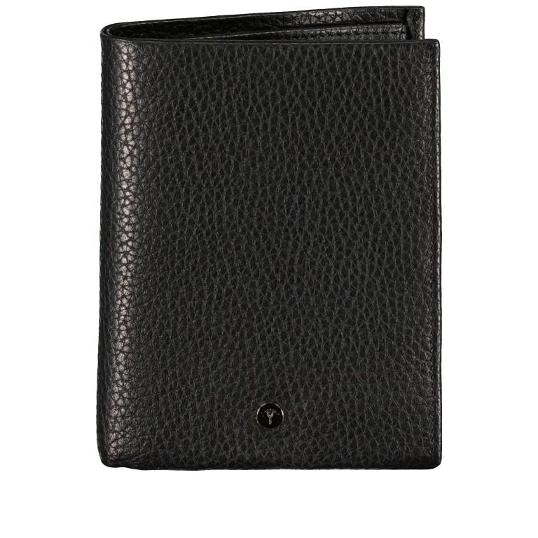 Geldbörse Cardona V8 Black, Farbe: schwarz, Marke: Joop!, EAN: 4053533568987, Abmessungen in cm: 12.0x10.0x2.0, Bild 1 von 4