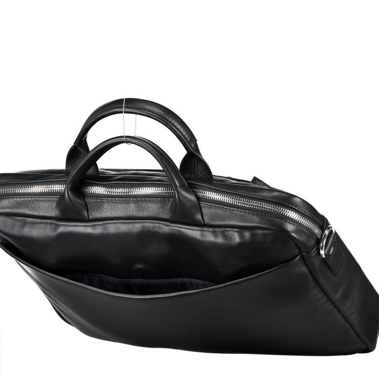 Aktentasche Vetra Pandion SHZ Black, Farbe: schwarz, Marke: Joop!, EAN: 4053533849062, Abmessungen in cm: 40.0x28.0x7.0, Bild 8 von 9
