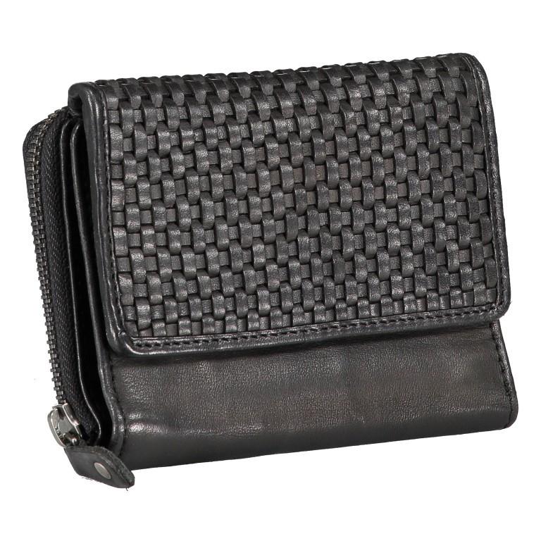Geldbörse Soft-Weaving Lou B3.2090 Dark Ash, Farbe: anthrazit, Marke: Harbour 2nd, EAN: 4046478050457, Abmessungen in cm: 13.5x10.5x3.0, Bild 2 von 6