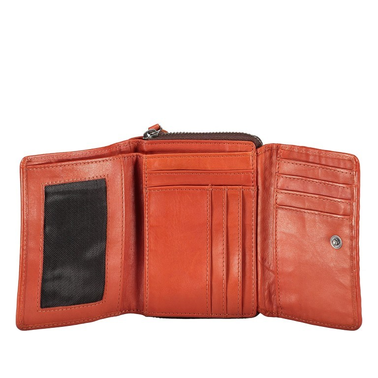 Geldbörse Soft-Weaving Lou B3.2090 Dark Ash, Farbe: anthrazit, Marke: Harbour 2nd, EAN: 4046478050457, Abmessungen in cm: 13.5x10.5x3.0, Bild 4 von 6