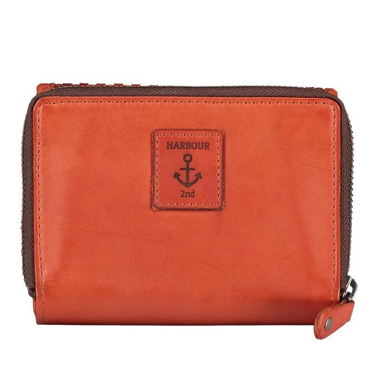 Geldbörse Soft-Weaving Lou B3.2090 Charming Cognac, Farbe: cognac, Marke: Harbour 2nd, EAN: 4046478050464, Abmessungen in cm: 13.5x10.5x3.0, Bild 3 von 6