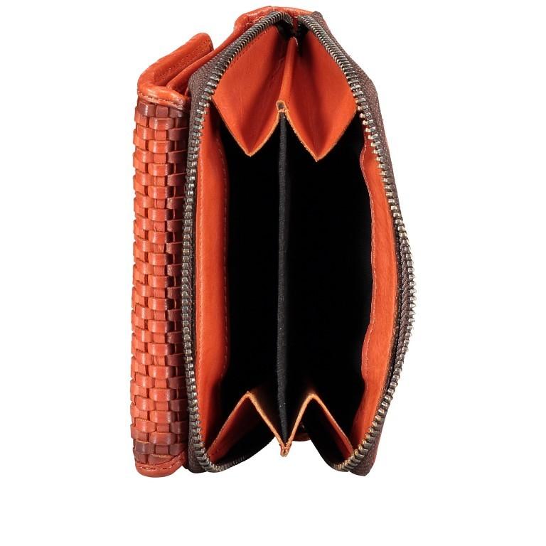 Geldbörse Soft-Weaving Lou B3.2090 Chocolate Brown, Farbe: braun, Marke: Harbour 2nd, EAN: 4046478050471, Abmessungen in cm: 13.5x10.5x3.0, Bild 5 von 6
