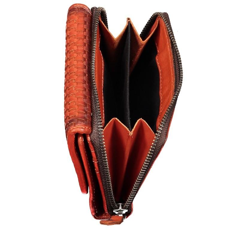 Geldbörse Soft-Weaving Lou B3.2090 Chocolate Brown, Farbe: braun, Marke: Harbour 2nd, EAN: 4046478050471, Abmessungen in cm: 13.5x10.5x3.0, Bild 6 von 6