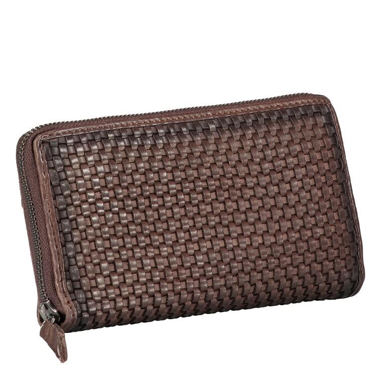 Geldbörse Soft-Weaving Sun B3.2471 Chocolate Brown, Farbe: braun, Marke: Harbour 2nd, EAN: 4046478050518, Abmessungen in cm: 19.0x10.5x2.0, Bild 2 von 4