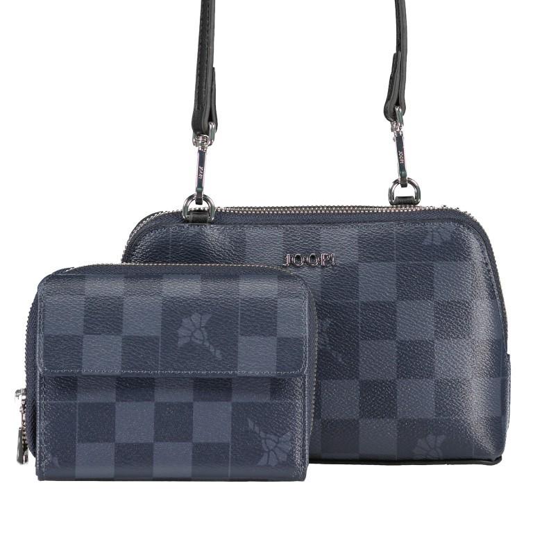Umhängetasche Cortina Piazza Valeria Geschenkbox (2er Set) Dark Blue, Farbe: blau/petrol, Marke: Joop!, EAN: 4053533896974, Bild 1 von 14