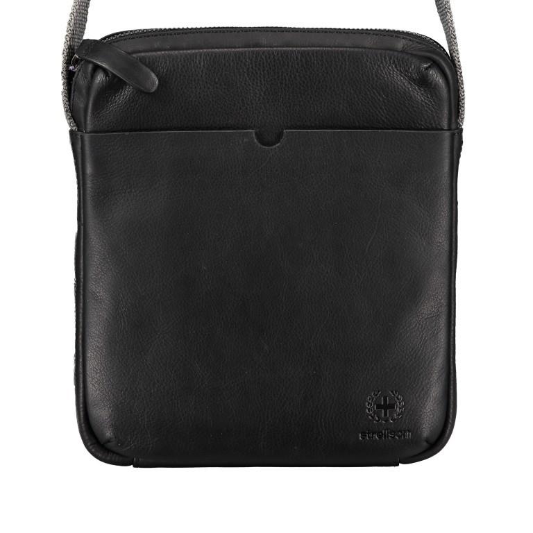 Umhängetasche Bondstreet Shoulderbag XSVZ Black, Farbe: schwarz, Marke: Strellson, EAN: 4053533902958, Abmessungen in cm: 21.0x25.0x3.5, Bild 1 von 6
