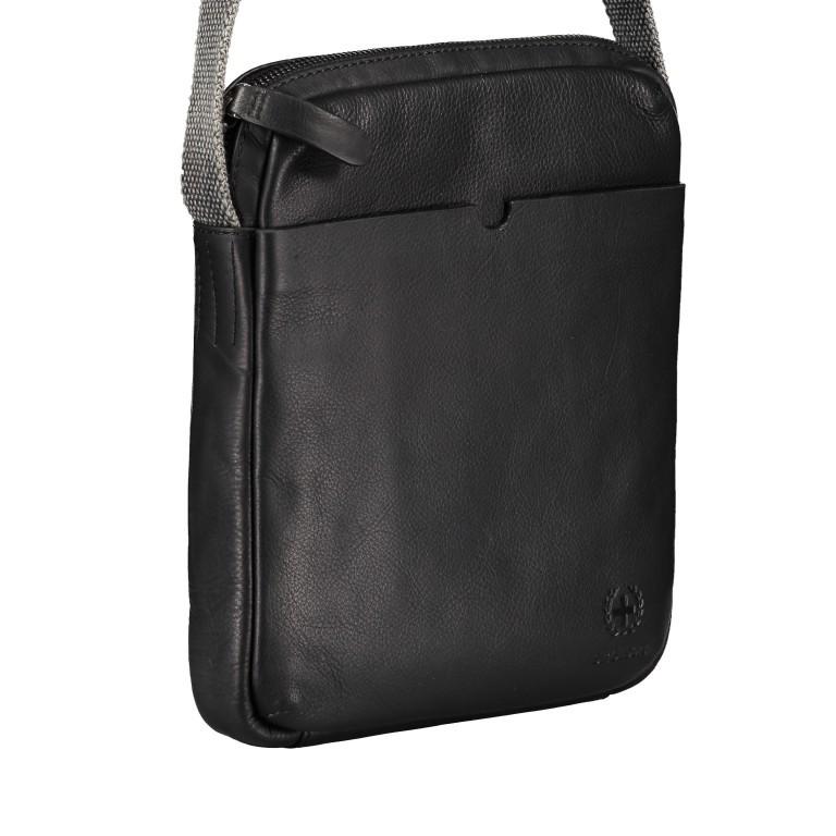 Umhängetasche Bondstreet Shoulderbag XSVZ Black, Farbe: schwarz, Marke: Strellson, EAN: 4053533902958, Abmessungen in cm: 21.0x25.0x3.5, Bild 2 von 6