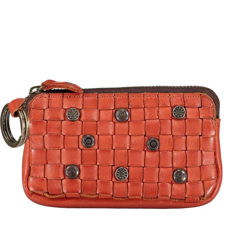 Schlüsseletui Soft-Weaving Lulu B3.0525 Sparkling Lava, Farbe: orange, Marke: Harbour 2nd, EAN: 4046478050303, Abmessungen in cm: 13.0x7.5x1.5, Bild 1 von 3