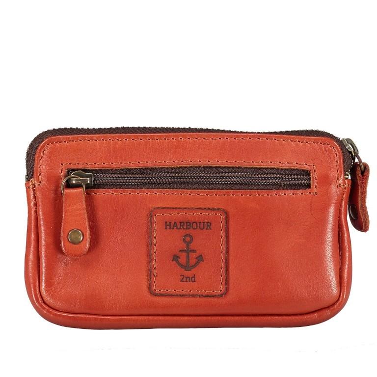 Schlüsseletui Soft-Weaving Lulu B3.0525 Sparkling Lava, Farbe: orange, Marke: Harbour 2nd, EAN: 4046478050303, Abmessungen in cm: 13.0x7.5x1.5, Bild 2 von 3