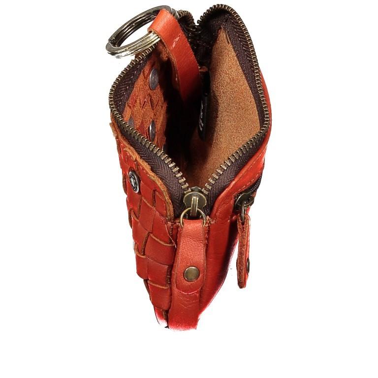 Schlüsseletui Soft-Weaving Lulu B3.0525 Sparkling Lava, Farbe: orange, Marke: Harbour 2nd, EAN: 4046478050303, Abmessungen in cm: 13.0x7.5x1.5, Bild 3 von 3