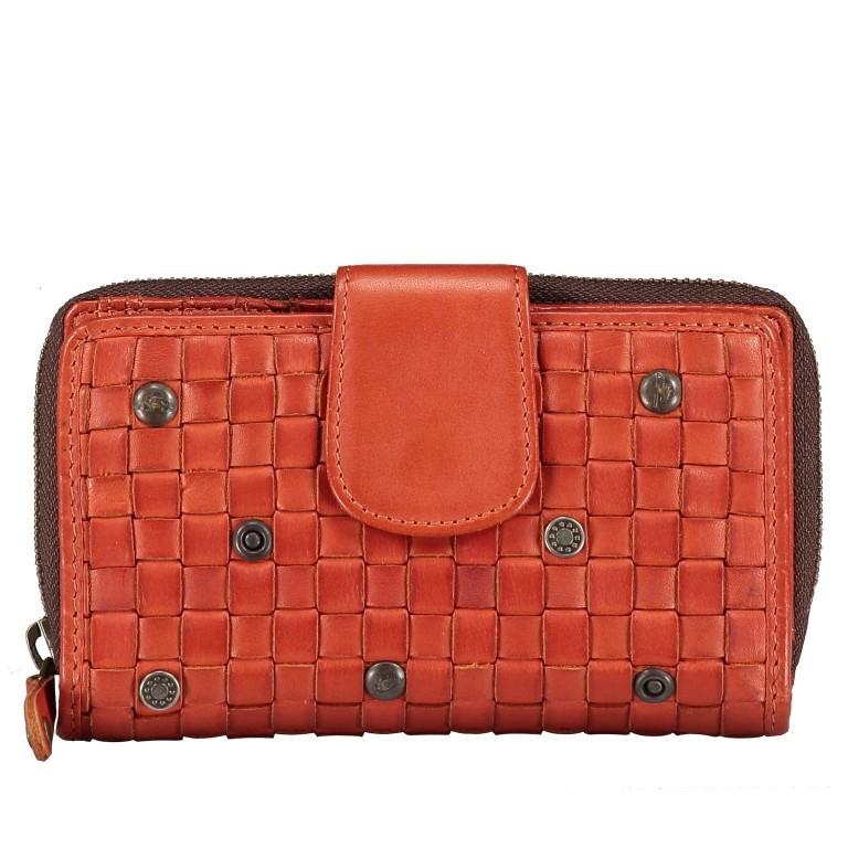 Geldbörse Soft-Weaving Lucinda B3.0647 Sparkling Lava, Farbe: orange, Marke: Harbour 2nd, EAN: 4046478050310, Abmessungen in cm: 16.0x10.0x3.0, Bild 1 von 4