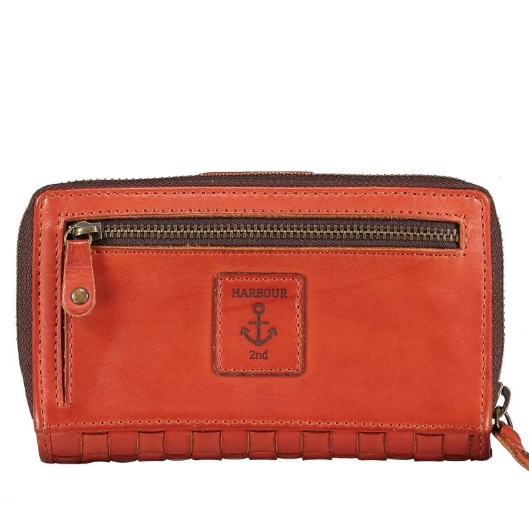 Geldbörse Soft-Weaving Lucinda B3.0647 Sparkling Lava, Farbe: orange, Marke: Harbour 2nd, EAN: 4046478050310, Abmessungen in cm: 16.0x10.0x3.0, Bild 2 von 4