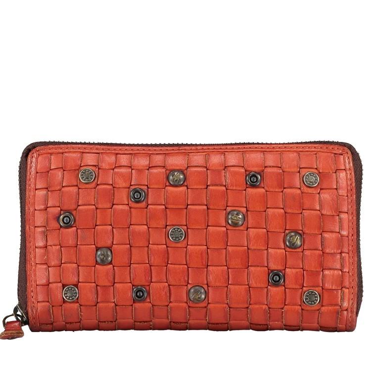 Geldbörse Soft-Weaving Penelope B3.9859 Sparkling Lava, Farbe: orange, Marke: Harbour 2nd, EAN: 4046478050334, Abmessungen in cm: 18.5x10.0x2.5, Bild 1 von 4