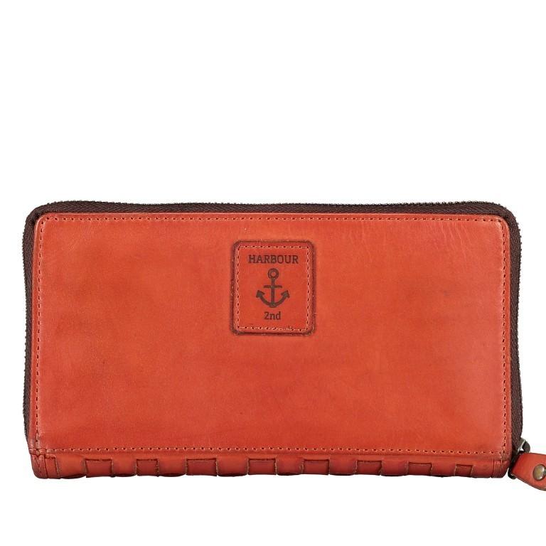 Geldbörse Soft-Weaving Penelope B3.9859 Sparkling Lava, Farbe: orange, Marke: Harbour 2nd, EAN: 4046478050334, Abmessungen in cm: 18.5x10.0x2.5, Bild 2 von 4