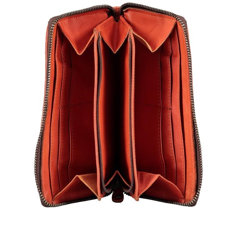 Geldbörse Soft-Weaving Penelope B3.9859 Sparkling Lava, Farbe: orange, Marke: Harbour 2nd, EAN: 4046478050334, Abmessungen in cm: 18.5x10.0x2.5, Bild 4 von 4