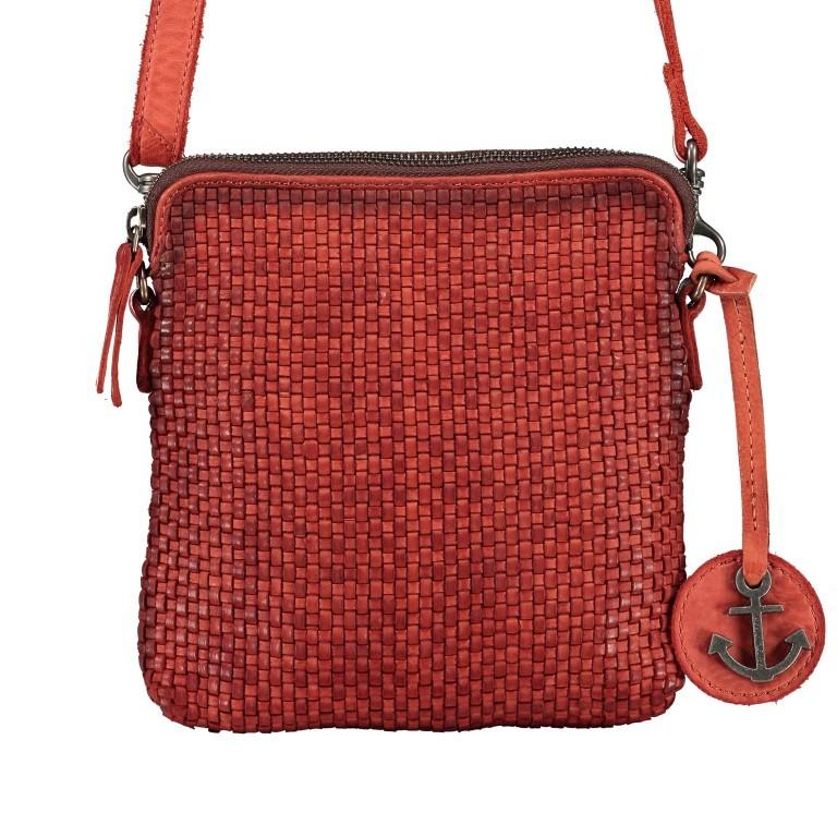 Umhängetasche Soft-Weaving Thelma B3.9786 Sparkling Lava, Farbe: orange, Marke: Harbour 2nd, EAN: 4046478050365, Abmessungen in cm: 19.5x20.0x3.0, Bild 1 von 6
