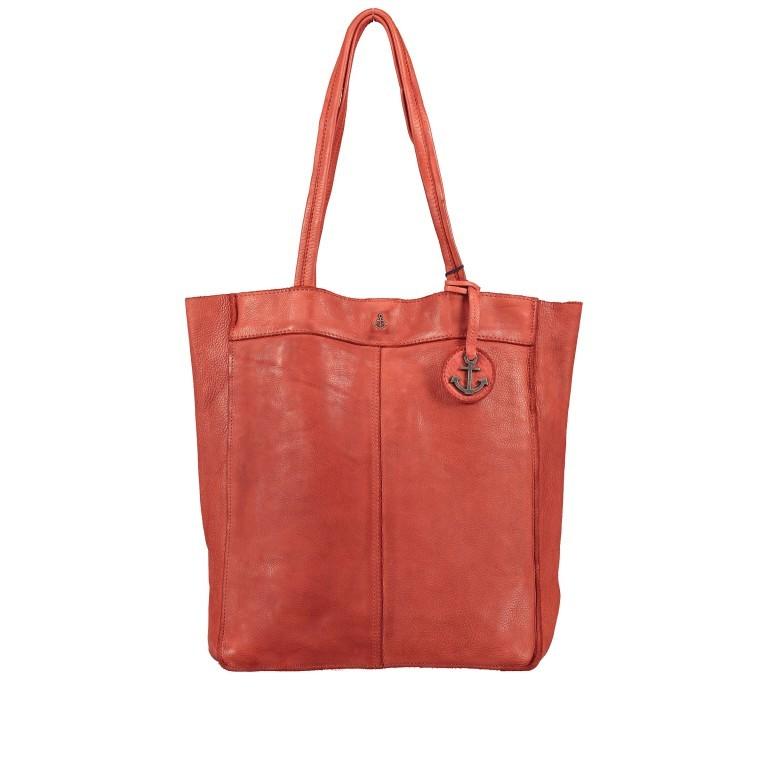 Shopper Anchor-Love Elbe 1 B3.6595 Sparkling Lava, Farbe: orange, Marke: Harbour 2nd, EAN: 4046478050556, Abmessungen in cm: 29.0x34.0x11.0, Bild 1 von 5