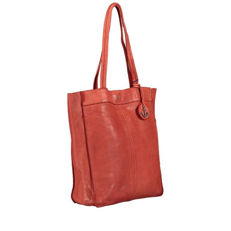 Shopper Anchor-Love Elbe 1 B3.6595 Sparkling Lava, Farbe: orange, Marke: Harbour 2nd, EAN: 4046478050556, Abmessungen in cm: 29.0x34.0x11.0, Bild 2 von 5