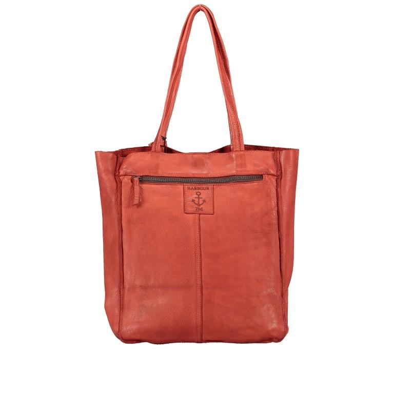 Shopper Anchor-Love Elbe 1 B3.6595 Sparkling Lava, Farbe: orange, Marke: Harbour 2nd, EAN: 4046478050556, Abmessungen in cm: 29.0x34.0x11.0, Bild 3 von 5