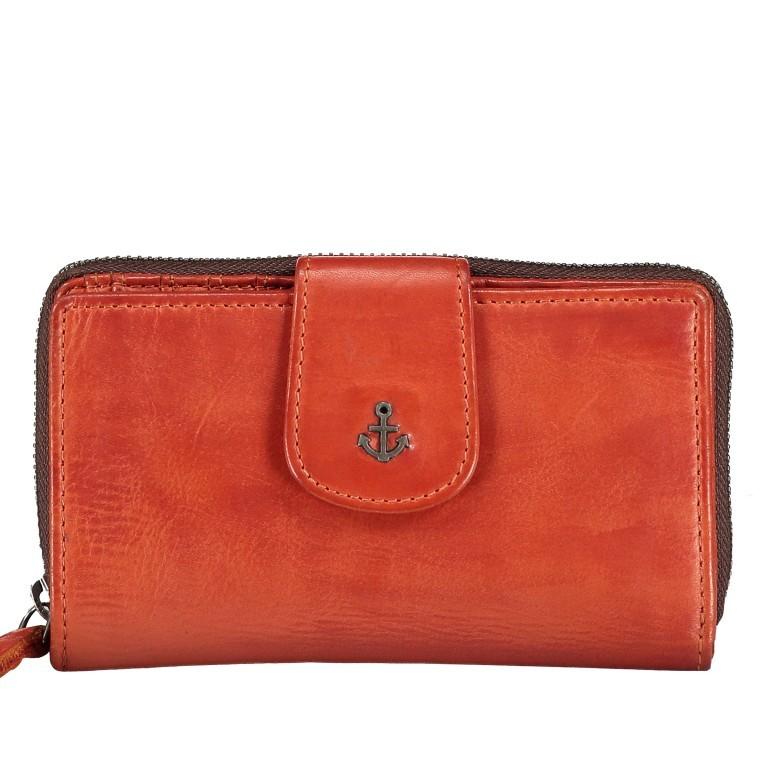Geldbörse Anchor-Love Linn B3.0646 Sparkling Lava, Farbe: orange, Marke: Harbour 2nd, EAN: 4046478050945, Abmessungen in cm: 16.0x10.0x3.0, Bild 1 von 4