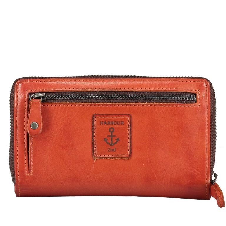 Geldbörse Anchor-Love Linn B3.0646 Sparkling Lava, Farbe: orange, Marke: Harbour 2nd, EAN: 4046478050945, Abmessungen in cm: 16.0x10.0x3.0, Bild 2 von 4