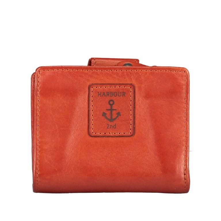 Geldbörse Anchor-Love Stella B3.1547 Sparkling Lava, Farbe: orange, Marke: Harbour 2nd, EAN: 4046478051027, Abmessungen in cm: 10.5x8.5x3.0, Bild 2 von 5