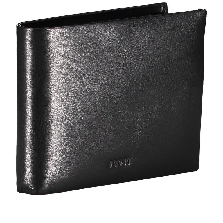 Geldbörse Novara Typhon MH9 Black, Farbe: schwarz, Marke: Joop!, EAN: 4053533906598, Abmessungen in cm: 12.5x9.5x2.0, Bild 2 von 3