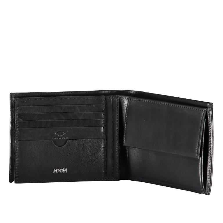 Geldbörse Novara Typhon MH9 Black, Farbe: schwarz, Marke: Joop!, EAN: 4053533906598, Abmessungen in cm: 12.5x9.5x2.0, Bild 3 von 3