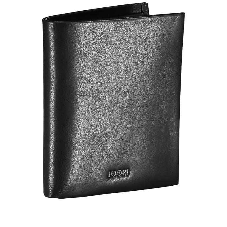 Geldbörse Novara Daphnis SV4 V6 Black, Farbe: schwarz, Marke: Joop!, EAN: 4053533906581, Abmessungen in cm: 9.0x10.5x2.0, Bild 2 von 3