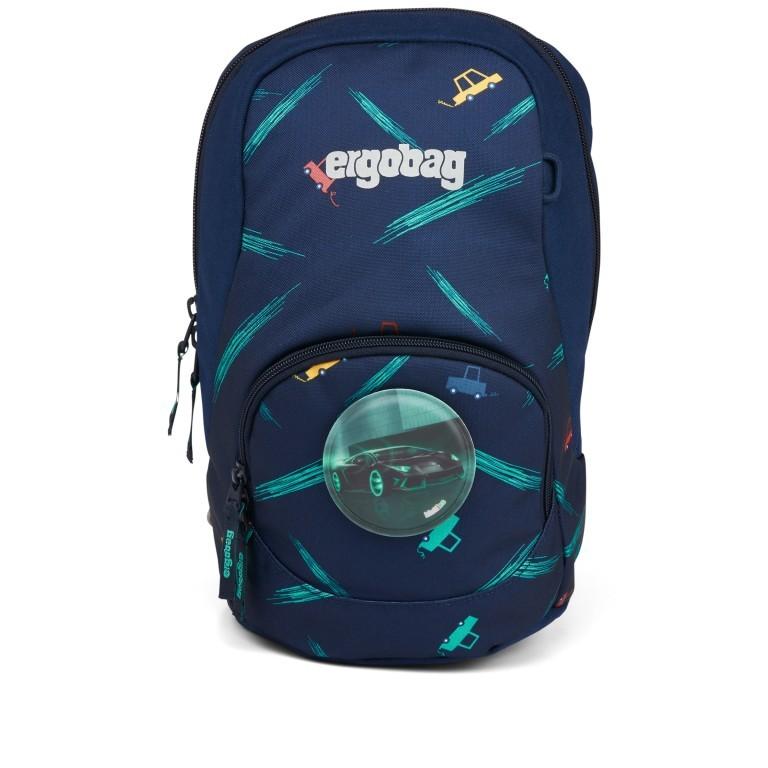 Kinderrucksack Ease Small Bärnhard, Farbe: blau/petrol, Marke: Ergobag, EAN: 4057081074143, Abmessungen in cm: 18.5x30.0x18.5, Bild 2 von 5