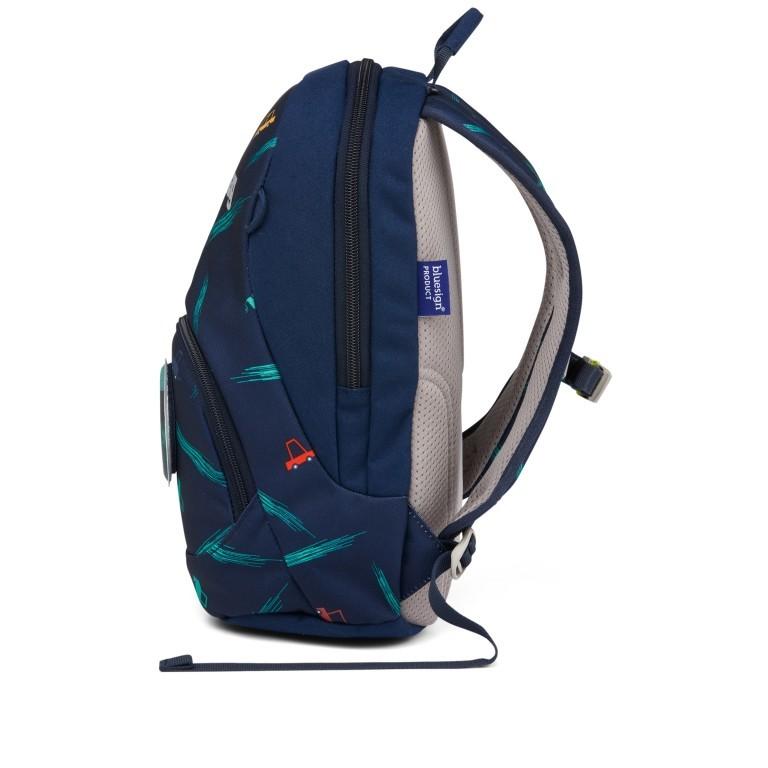 Kinderrucksack Ease Small Bärnhard, Farbe: blau/petrol, Marke: Ergobag, EAN: 4057081074143, Abmessungen in cm: 18.5x30.0x18.5, Bild 3 von 5