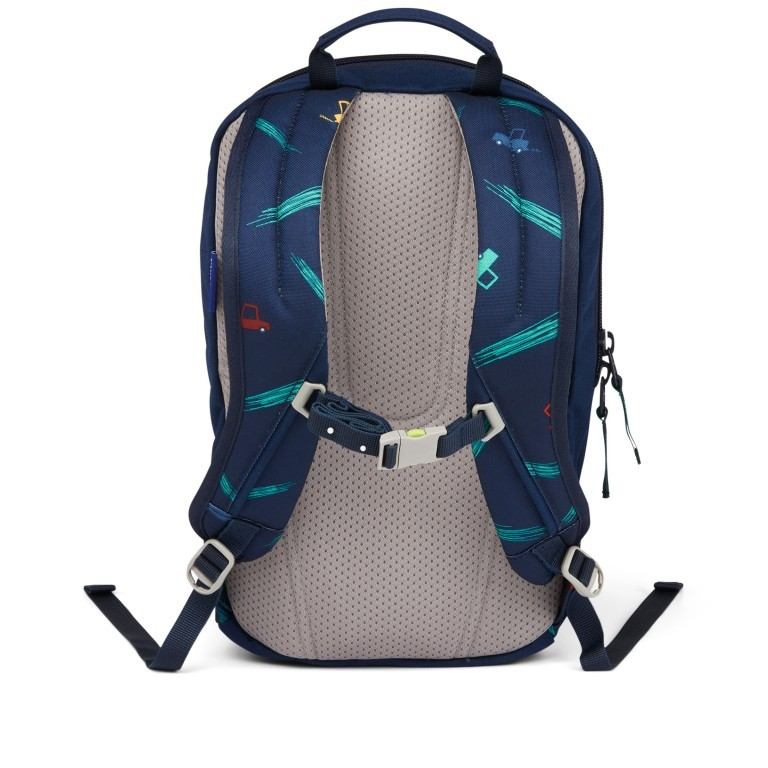 Kinderrucksack Ease Small Bärnhard, Farbe: blau/petrol, Marke: Ergobag, EAN: 4057081074143, Abmessungen in cm: 18.5x30.0x18.5, Bild 4 von 5