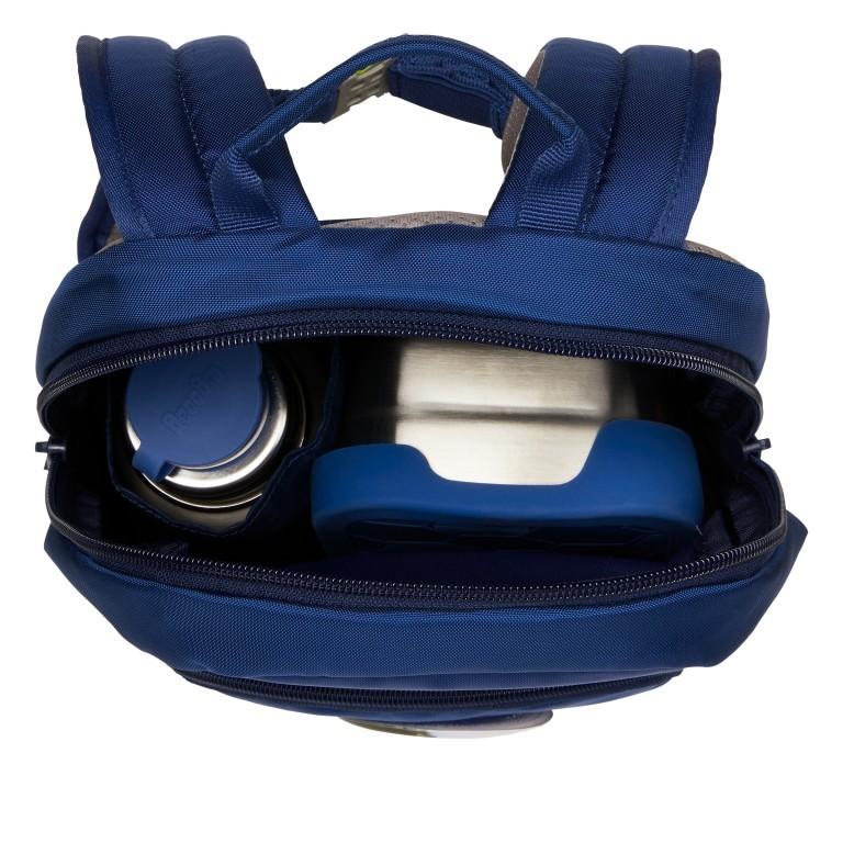 Kinderrucksack Ease Small Bärnhard, Farbe: blau/petrol, Marke: Ergobag, EAN: 4057081074143, Abmessungen in cm: 18.5x30.0x18.5, Bild 5 von 5