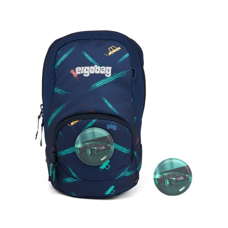 Kinderrucksack Ease Small Bärnhard, Farbe: blau/petrol, Marke: Ergobag, EAN: 4057081074143, Abmessungen in cm: 18.5x30.0x18.5, Bild 1 von 5
