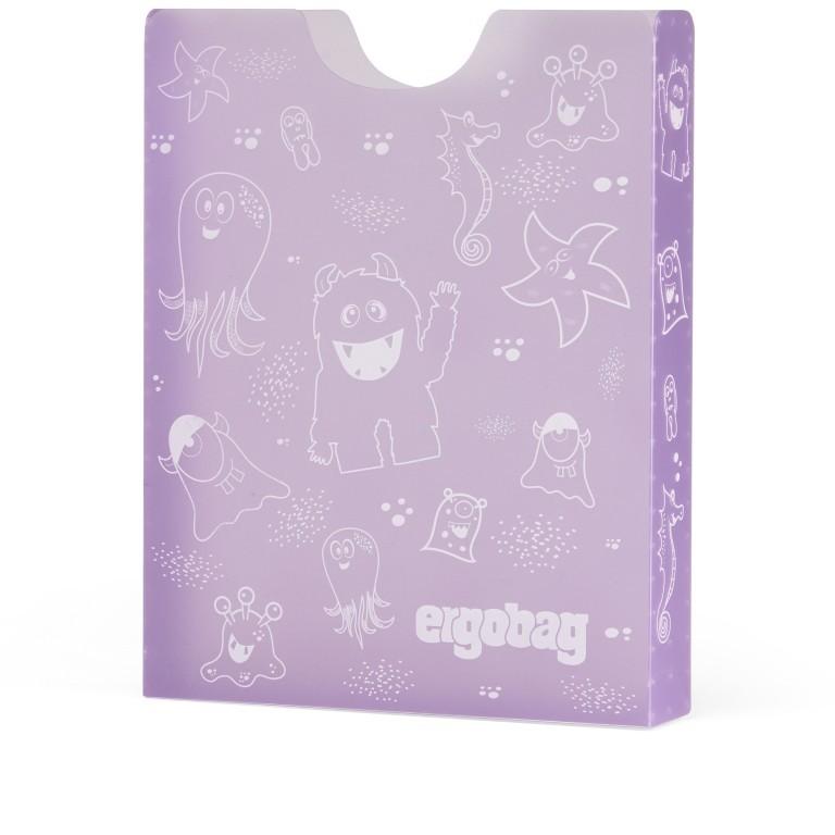 Heftbox Lila, Farbe: flieder/lila, Marke: Ergobag, EAN: 4057081079513, Abmessungen in cm: 24.0x31.0x5.0, Bild 1 von 1